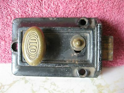 Vintage Ilco Lock Co. Door Lock/night Latch Made In The U.s.a