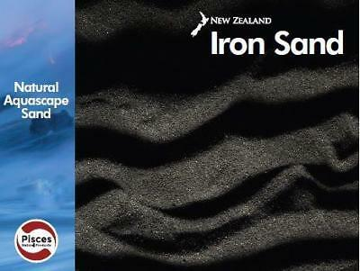 Pisces NZ Iron Sand 20kg Substrate Planted Natural Aquascape Sand