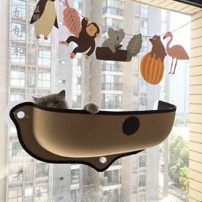 Cat Hammock Bed Mount Window Pod Lounger Suction Cups Warm Bed Pet Cat Craddle