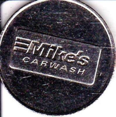 Mike's Carwash   Car Wash Token  Indianapolis, Indiana