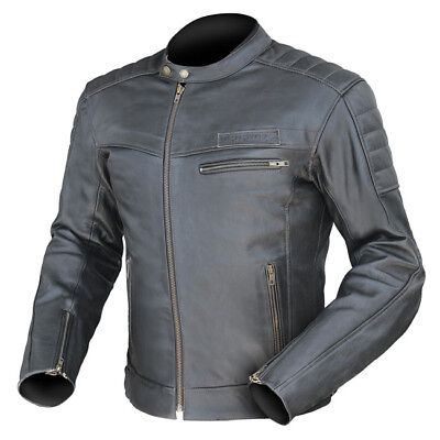 Dririder GT Leather Motorcycle jacket Black ALL SIZES