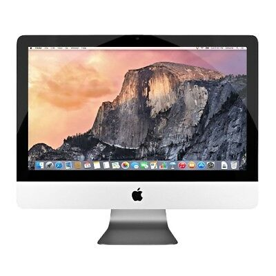 "Apple IMAC 21.5"" Slim AIO COMPUTER PC A1418 2013 i5 2.9GHZ 8GB 1TB GT750M Sierra"