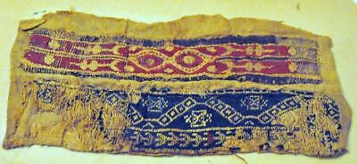Coptic fabric 2000 years old approx. Lot 276
