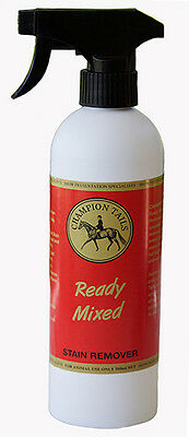 Champion Tails Pre Mix Stain Remover Silver Horse And Equestrian