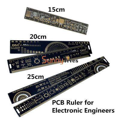 4CM/15/20/25cm PCB Ruler Reference Ruler PCB  for Ardunio Electronic Engineers