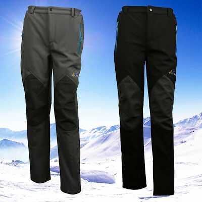 Water-resistant Thermal Mens Hiking Trousers Walking Snow Ski Quick Dry Pants