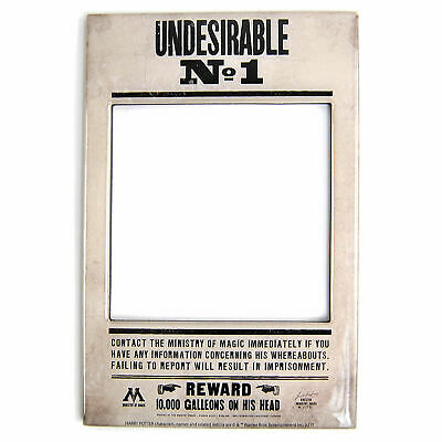Harry Potter Undesirable No 1 Photo Frame Fridge Magnet Picture Hogwarts Wizard