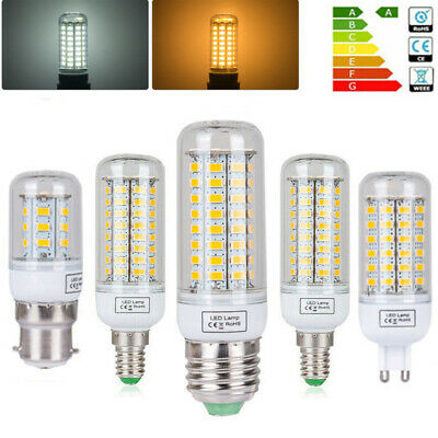 E27 E14 B22 G9 LED Maïs Ampoule 3W 6W 9W 12W 15W 5730 SMD Blanc Chaud/Froid Lamp