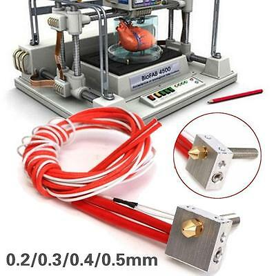 Anet A8 A6 etc Extruder Hot End Kit Für Prusa i3 3d-drucker MK8 !1 Tag Versand!
