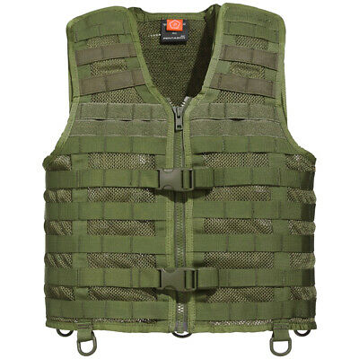Pentagon Thorax 2.0 Mesh Vest Tactical Assault Combat MOLLE Holder Airsoft Olive