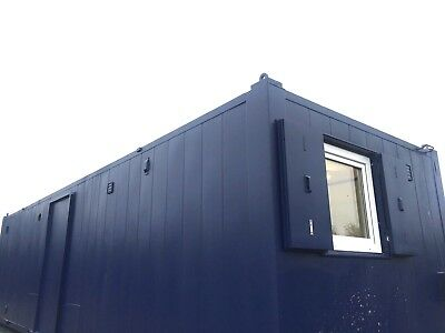32 ft x10ft Anti Vandal 2+1 Double toilet/ Office Site /Canteen Container