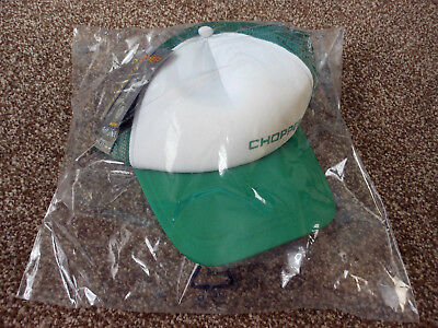 Genuine Official Raleigh Chopper Green/white Baseball Hat One Size Fits All Bnwt