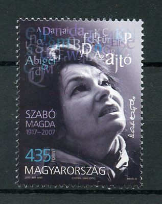 Hungary 2017 MNH Magda Szabo 100th Birth Anniv 1v Set Writers Literature Stamps