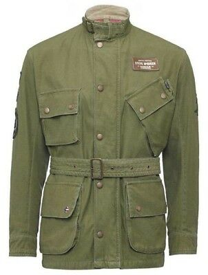 Barbour Steve McQueen Casual Baker Special Edition Jacket Burnt Olive