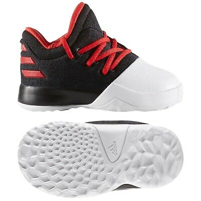 49534300b25 Adidas Harden Vol.1 Black Scarlet BW0628 Boys Toddler Basketball Shoes Sz 5  Kids
