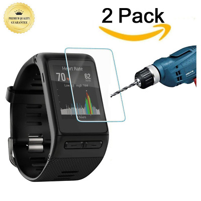 Clear Tempered Glass Screen Protector Film Accessory For Garmin Vivoactive HR