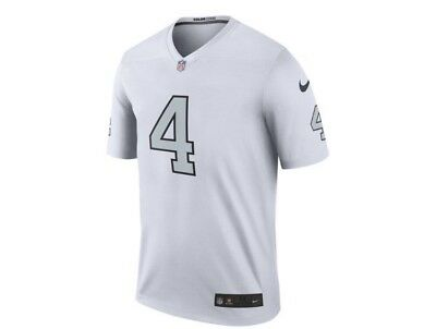 cf7fbce76 Oakland Raiders Derek Carr Nike NFL Men s Legend Color Rush Jersey All Sizes