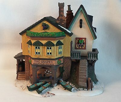 Dept 56 - The Grapes Inn- Dickens Village Series Collection - Heritage - Lighted