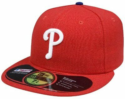4723462d1fe MLB Philadelphia Phillies AC On Field New Era 59FIFTY Cap Fitted Hat  40  RARE!