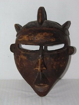 Beautiful Antique African Pende Mask - Zaire