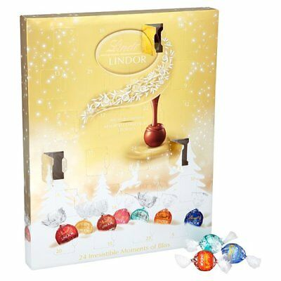 Lindt Lindor Blissful Advent Calendar Gift 300g Limited Stock Clearance BBF 30/0
