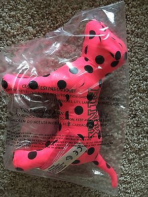 Victoria Secret PINK Polka Dot Mini Dog Pup NEW IN PACKAGE RARE