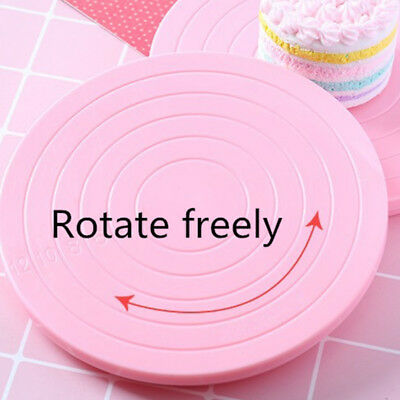 14Cm Rotating Cake Icing Deocrating Revolving Kitchen Display Stand Turntable