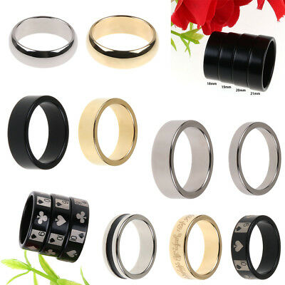 Magic Strong Magnetic Ring Finger PK Magician Trick Props Show Tool 18-21mm