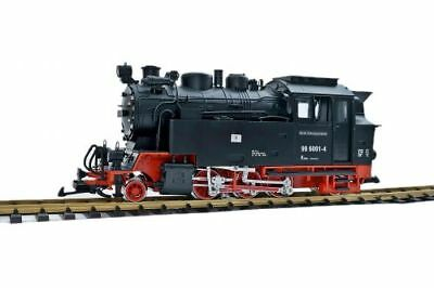 Steam Locomotive HSB BR 996001-4, Massoth DCC, with Current from Track, G Scale