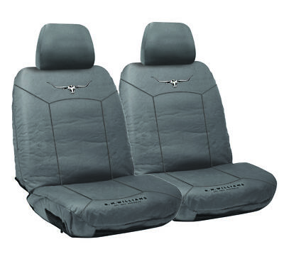 RM Williams Stockyard Canvas Waterproof Car Seat Covers RMW Size 30 Pair