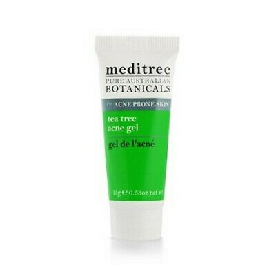 Meditree Tea Tree Acne Gel with Willowbark, Aloe Vera & Chamomile 15 g