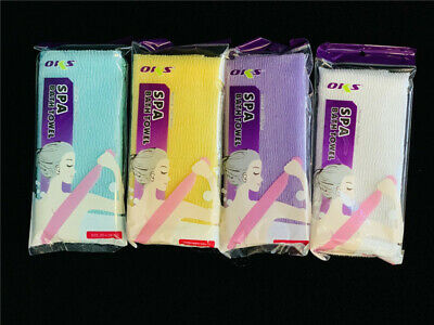 5xBathing towel Shower Exfoliating  Cloth Cleaning Massage Scrubber Body