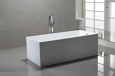 Bathroom Freestanding Acrylic Bath Tub Model Santina 5 Sizes Available