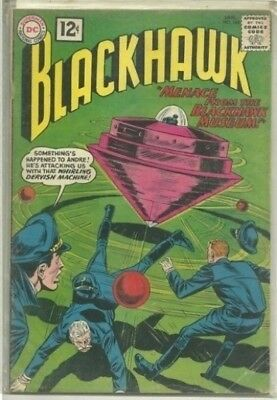 Blackhawk #168 DC Silver Age (1962) Comic Book FN/FN+
