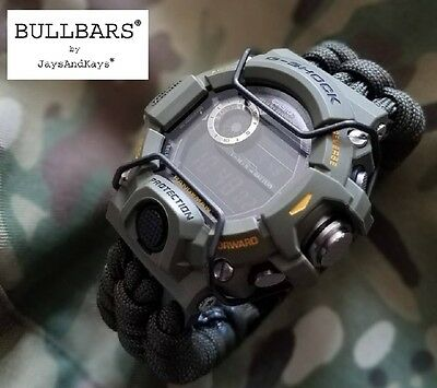 JaysAndKays® BULLBARS® for Casio G-Shock GW9400 Rangeman PVD Wire Guards 9400