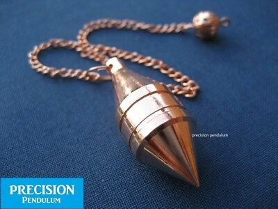 The Sixth Sense Copper Solid Metal Precision Pendulum with Chain Divination
