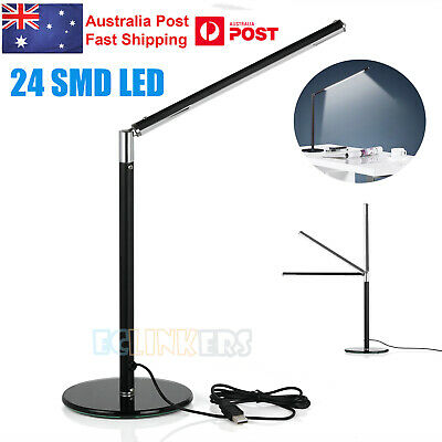 Rotatable USB Adjustable Study Reading Light Bright LED Table Desk Lamp