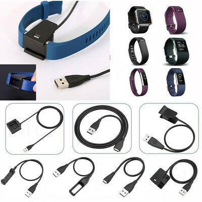 USB Charging Cable Charger For FitBit Flex Force One Charge HR Alta Blaze Surge