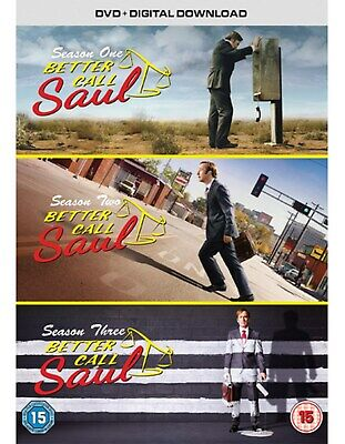 Better Call Saul: Complete Seasons 1-3 (Boxset With UV Copy) [DVD]