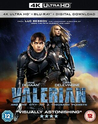 Valerian and the City of a Thousand Planets (4K Ultra HD + Blu-ray + Digital D