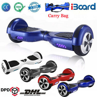 Hoverboard Self Balancing Scooter électrique Bluetooth Board Skate+Sac Overboard