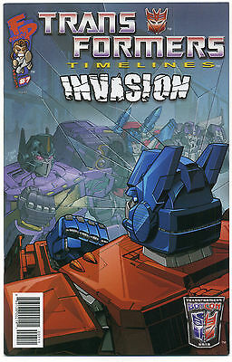 TRANSFORMERS TIMELINES #7; 2012 NM/MT Fun Publications, INVASION