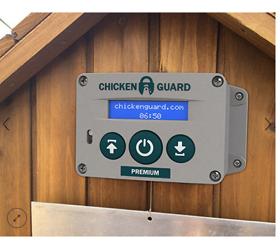 ChickenGuard – Automatic Chicken Coop Door Opener