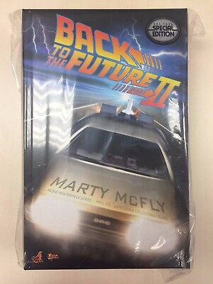 Hot Toys MMS 379 Back To The Future II 2 Marty McFly Michael J Fox (Special Ver)