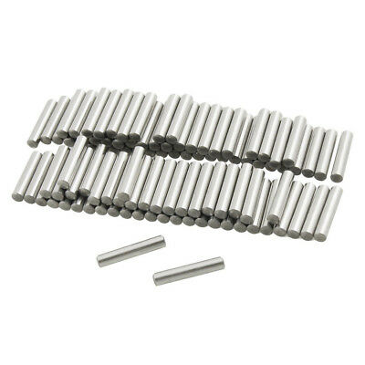 5X(100 Pcs Stainless Steel 2.5mm x 16mm Dowel Pins Fasten Elements E9S3 U3W0
