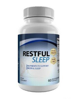 Divine Health Restful Sleep | Nutrient Supports Relaxation - 60 Tablets