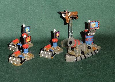 Rare OOP Citadel GW Man O' War Painted Chaos Dwarf Thunderer Fleet 5 models