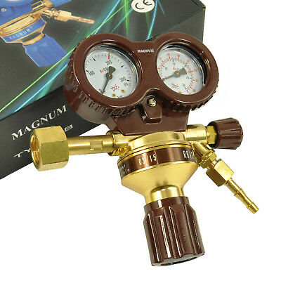 PRO ARGON CO2 MIG MAG TIG WIG Regulator Welder Twin Gauge