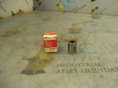 Thomson A61014 Closed Round Rail Ball Bushing Linear Bearing Nib