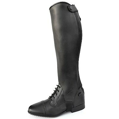 Mark Todd Competition Gaiters in Black Leather - All sizes